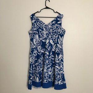 Dorby Dresses - •Dorby• Blue floral dress
